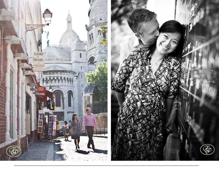 couple pictures paris montmartre - paris photographer