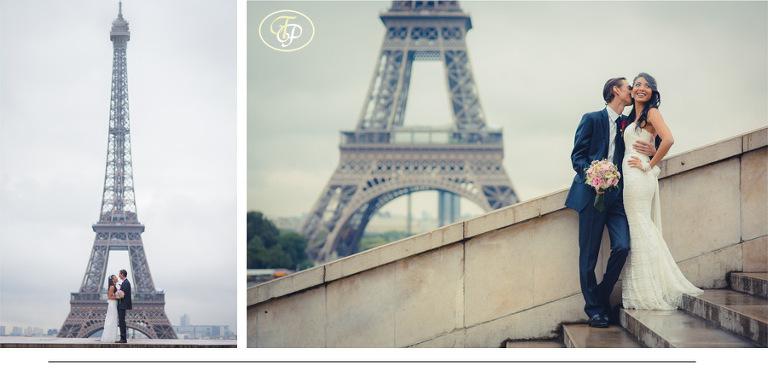 prewedding at Eiffel Tower - Pierre Paris Photographer
