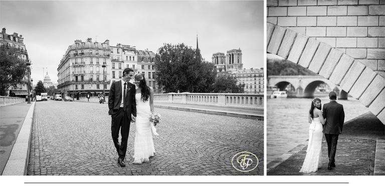 Paris elopement black and white - Paris photographer Pierre's blog