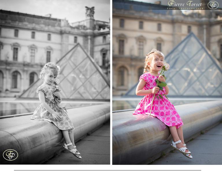 child photographer in Paris