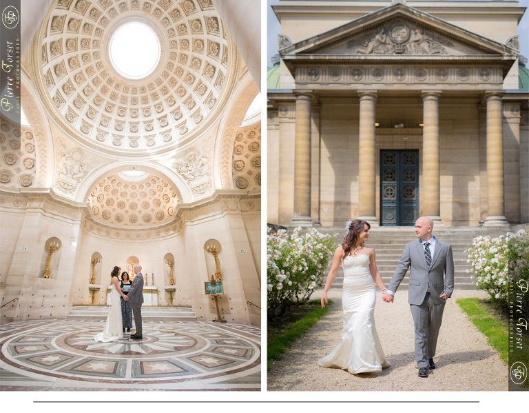 wedding paris church