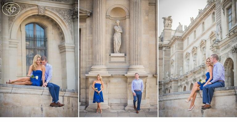 honeymoon photo session in Paris