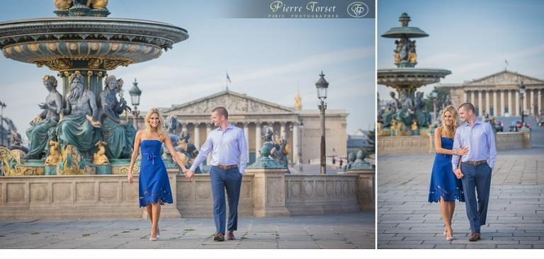 photo session at Concorde square in Paris