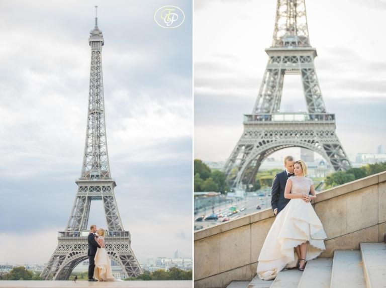 Wedding at EIffel Tower in Paris