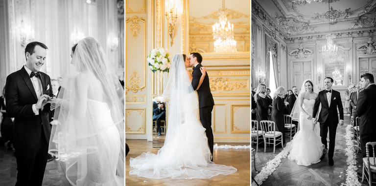 ceremony wedding in paris