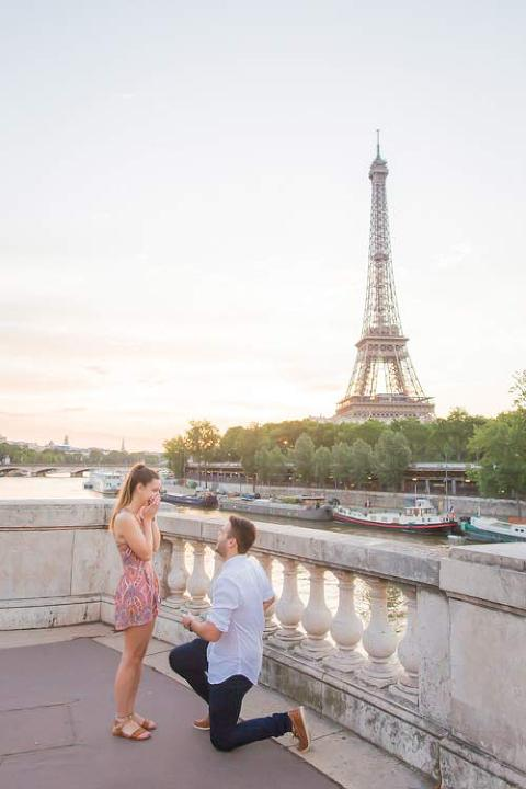 paris proposal eiffel tower