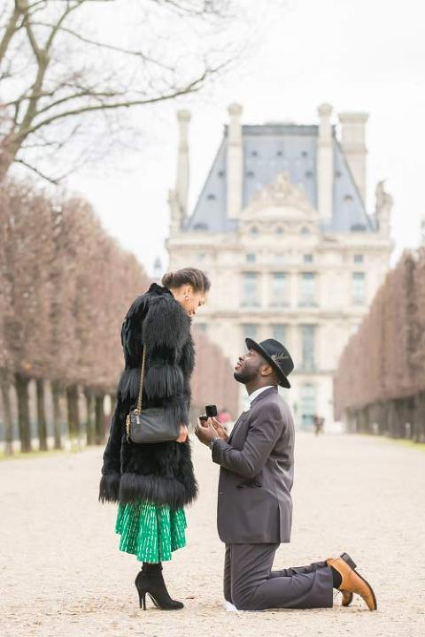 paris proposal garden
