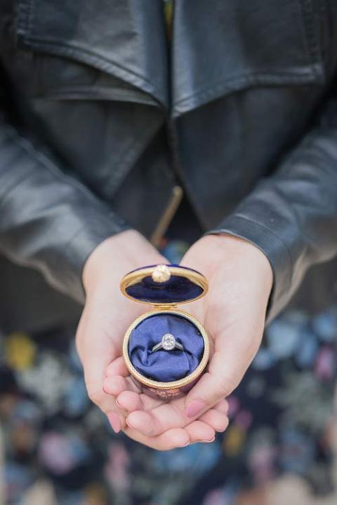 paris proposal ring holder