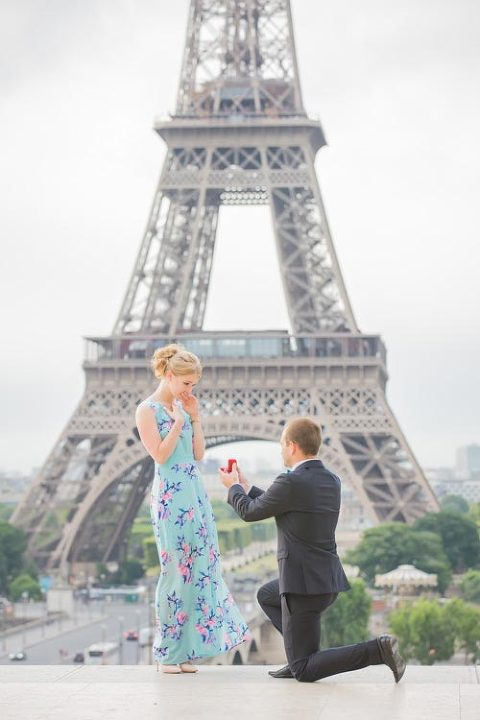 proposal paris trocadero