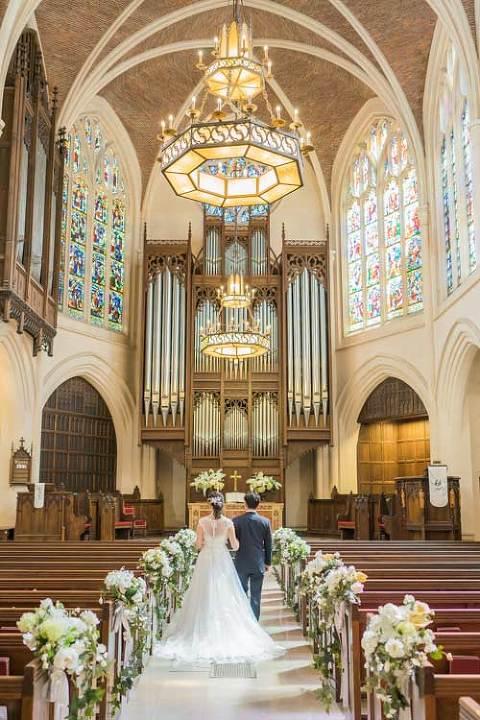 pre wedding paris church