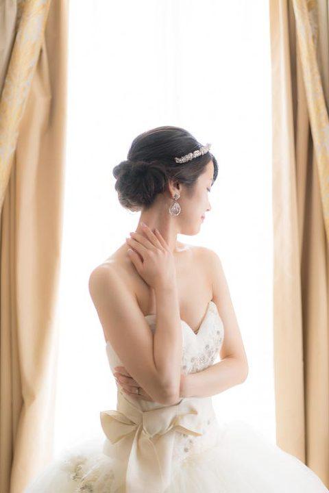 pre wedding paris portrait