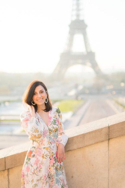 eiffel tower portrait photographer