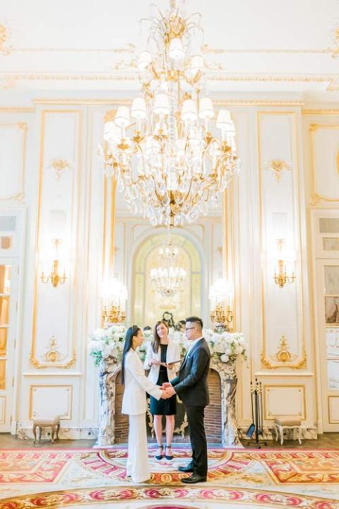 elopement paris ritz
