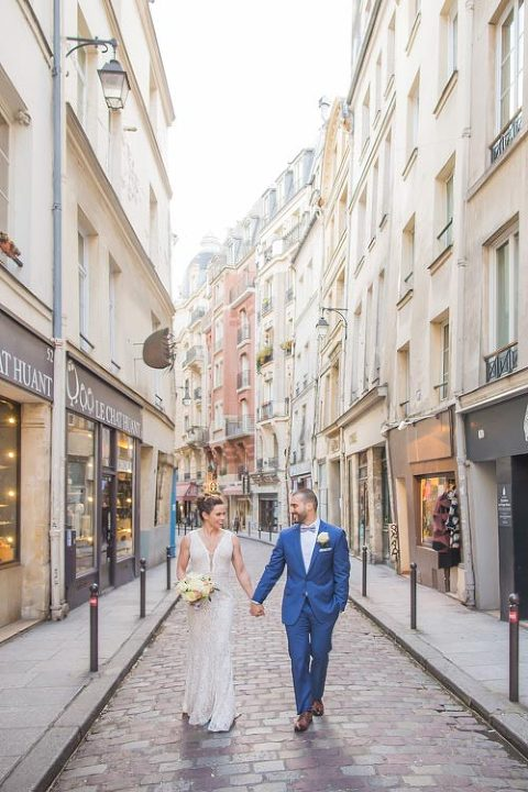 elopement paris street