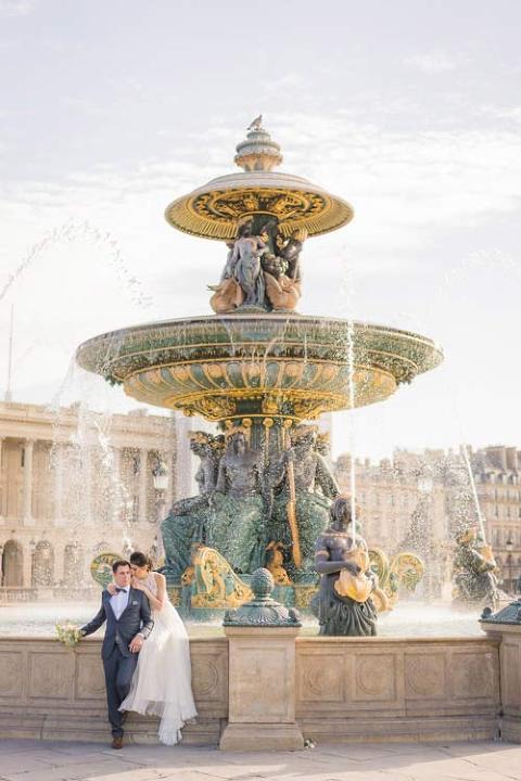 elopement photoshoot paris