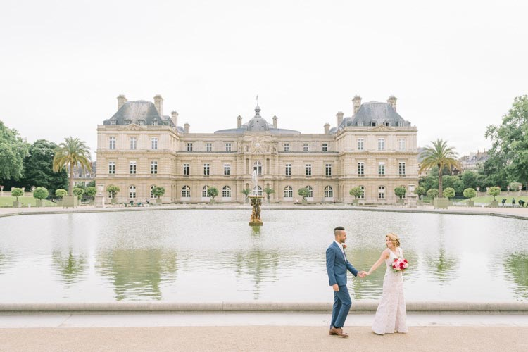 paris chateau elopement
