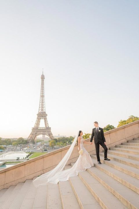paris elopement trocadero