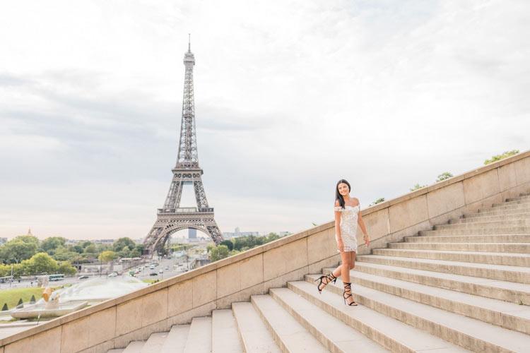 paris individual photo session