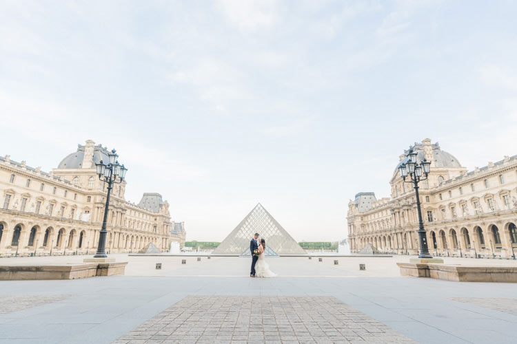 paris photoshoot elopement