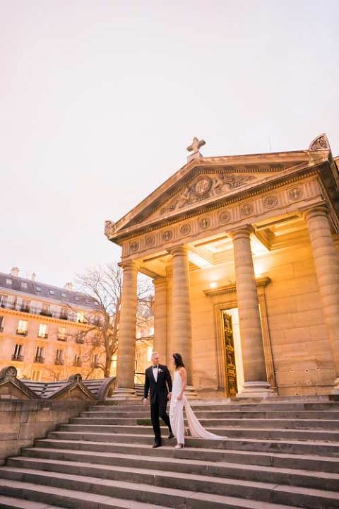 Paris wedding chapelle expiatoire