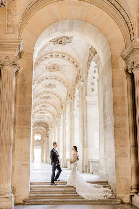 Paris wedding Photo session