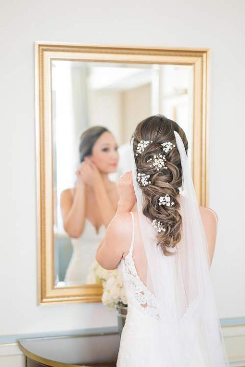 Paris wedding at Ritz during Getting ready