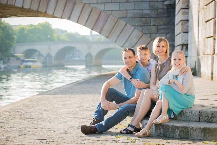 photo session paris family
