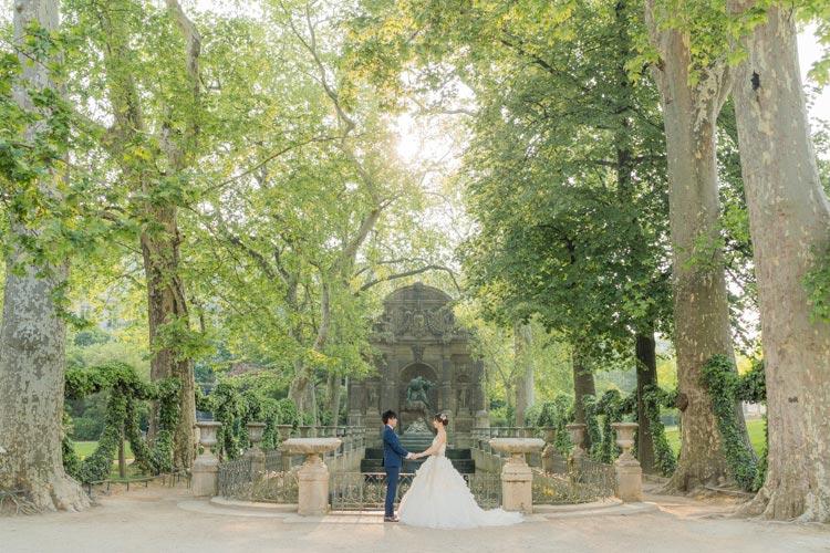 prewedding medici fountain