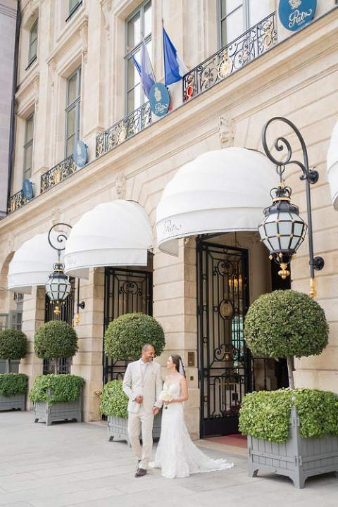 Paris wedding Ritz