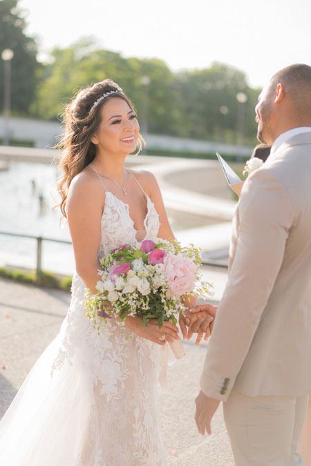 bride wedding ceremony paris