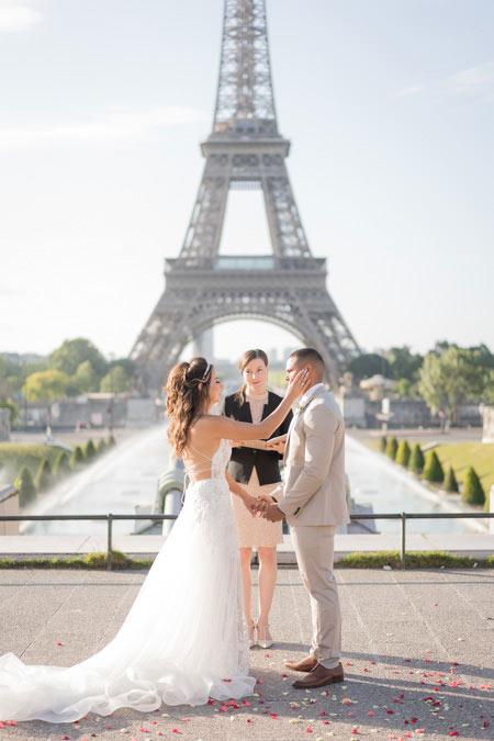 ceremony wedding trocadero