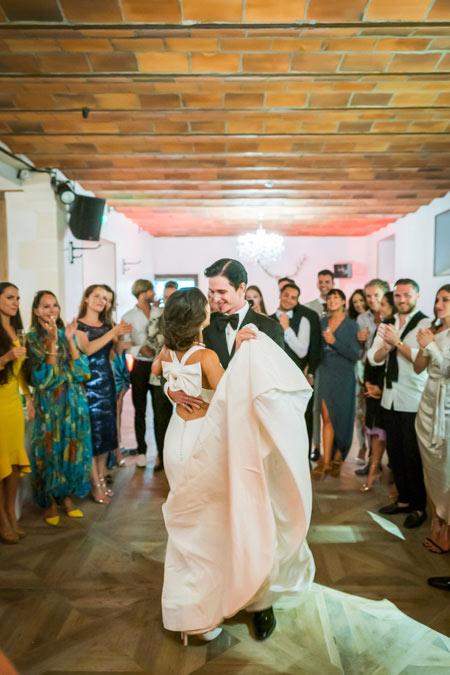 Chateau Wedding First dance