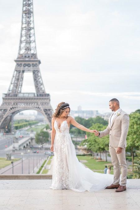 elopement trocadero first look