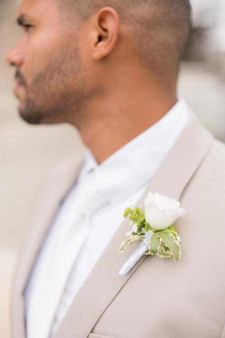 groom detail shot