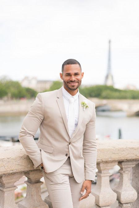 groom portrait paris