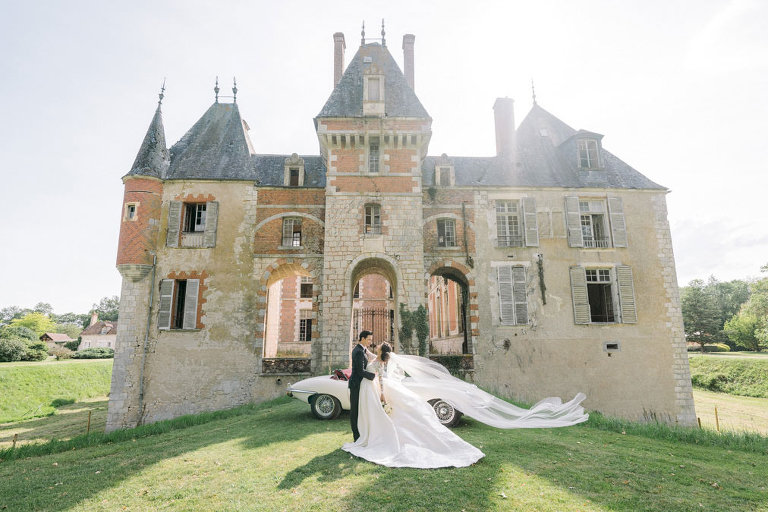 paris chateau wedding