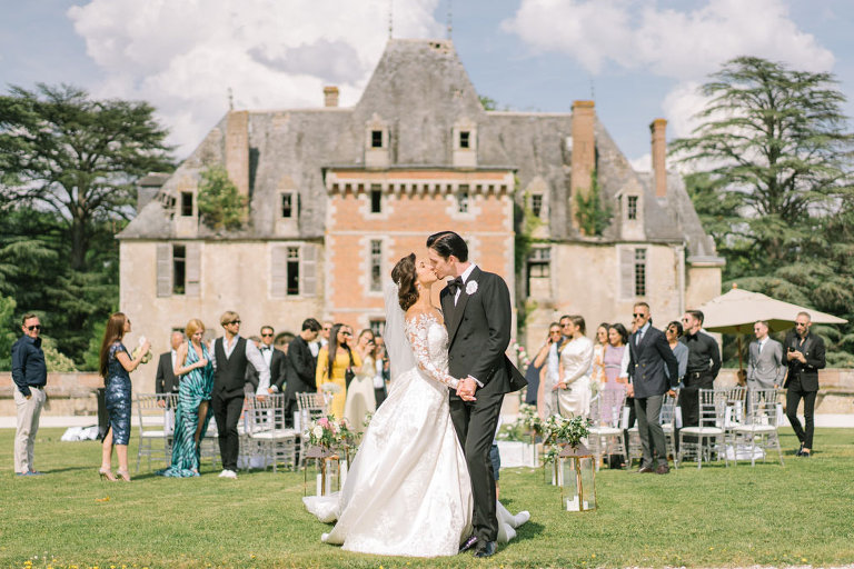 paris wedding chateau