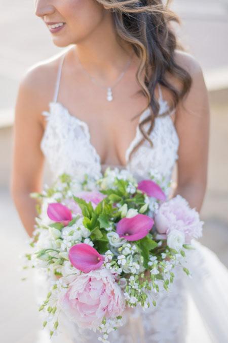 paris wedding floral bouquet