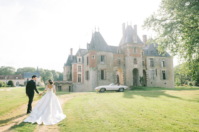 wedding paris chateau