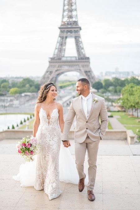 wedding photo trocadero