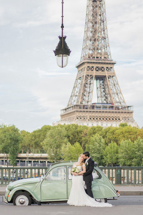 Citroen Paris car elopement