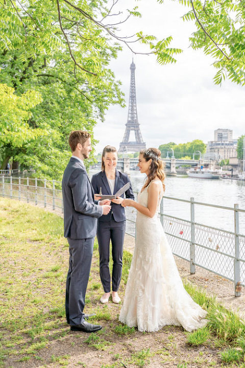 eiffel tower garden paris wedding