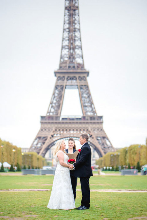 paris elopement champ-de-mars