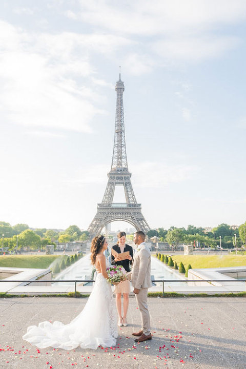 paris elopement eiffel tower