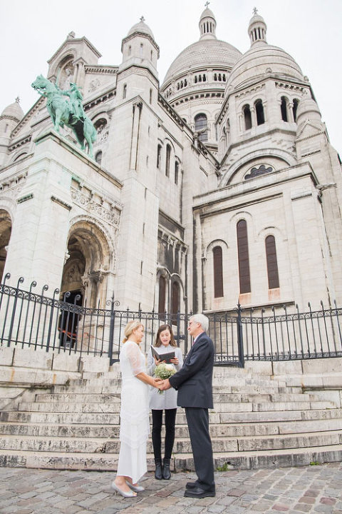 paris elopement at sacre-coeur