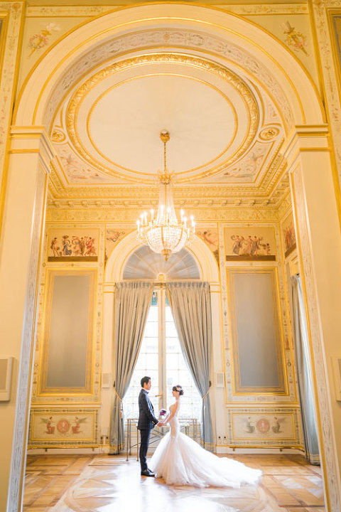 Shangri-La, elopement in Paris