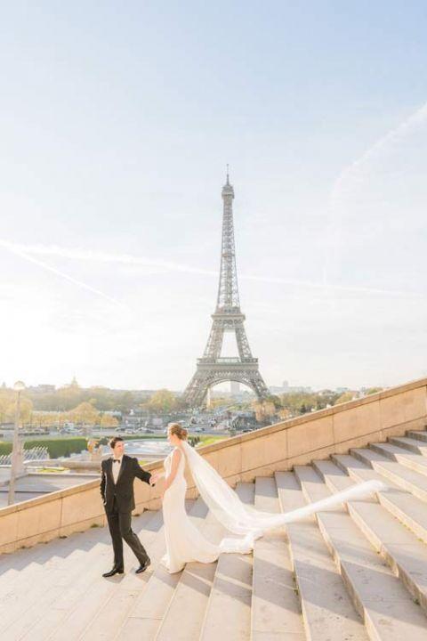 wedding eiffel tower