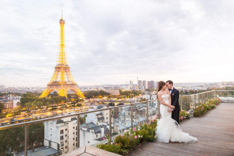 wedding eiffel tower shangri-la
