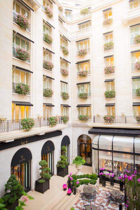paris hotel wedding four seasons