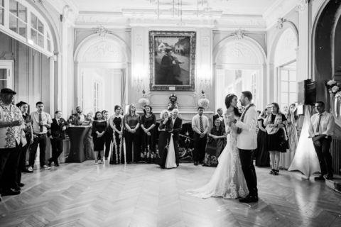 paris wedding venue lounge first dance